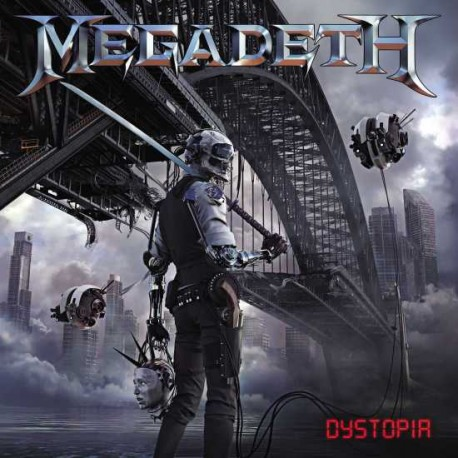 "MEGADETH ""Dystopia"" CD"