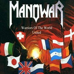 "MANOWAR ""Warriors of the World United"" MCD"