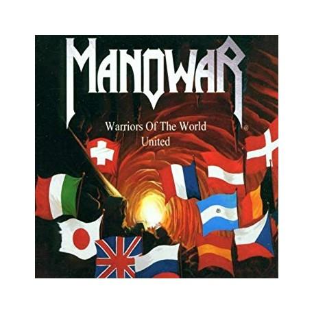 "MANOWAR ""Warriors of the World United"" MCD"