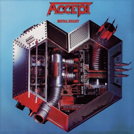 "ACCEPT ""Metal Heart"" CD"