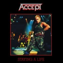 "ACCEPT ""Staying a Life"" 2xCD"