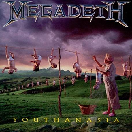"MEGADETH ""Youthanasia"" CD"