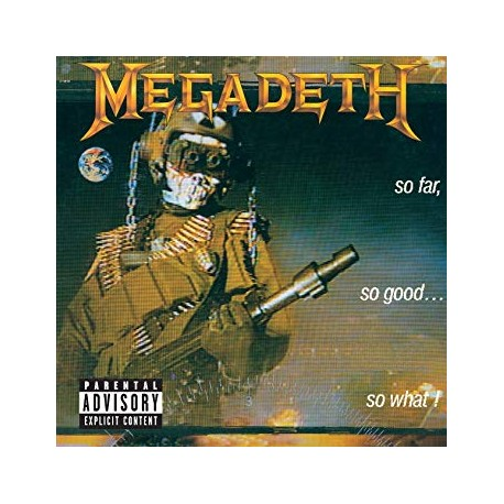 "MEGADETH ""So Far, So Good...So What!"" CD"