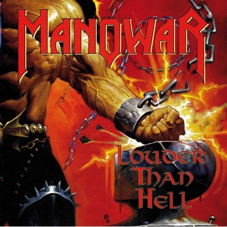 "MANOWAR ""Louder Than Hell"" CD"