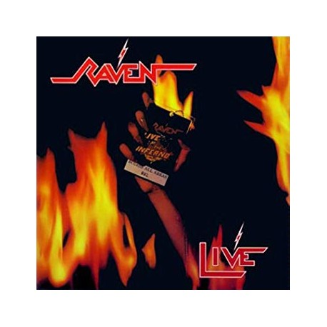 """RAVEN """"Live At The Inferno"""" 2xLP"""
