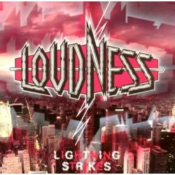"LOUDNESS ""Lightning Strikes"" LP"