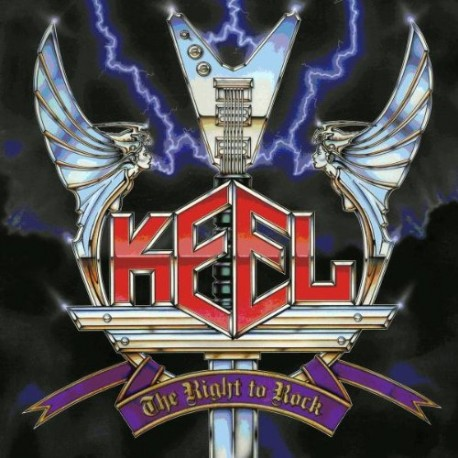 "KEEL ""The Right to Rock"" LP"