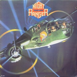 "NIGHT RANGER ""7 Wishes"" LP"