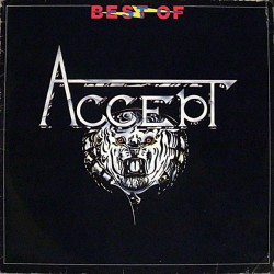 "ACCEPT ""Best Of"" LP"