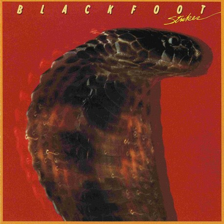 "BLACKFOOT ""Strikes"" CD"