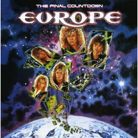 "EUROPE ""The Final Countdown"" CD"