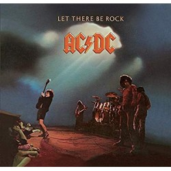 "AC/DC ""Let There Be Rock"" CD"