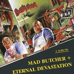 """DESTRUCTION """"Mad Butcher + Eternal Devastation"""" CD"""