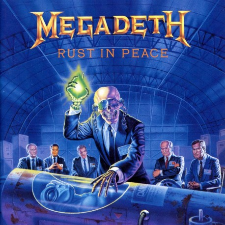 "MEGADETH ""Rust In Peace"" CD"