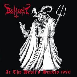 """BEHERIT """"At the Devil's Studio 1990"""" CD"""