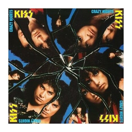"KISS ""Crazy Nights"" CD"