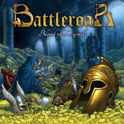 "BATTLEROAR ""Blood of Legends"" CD"