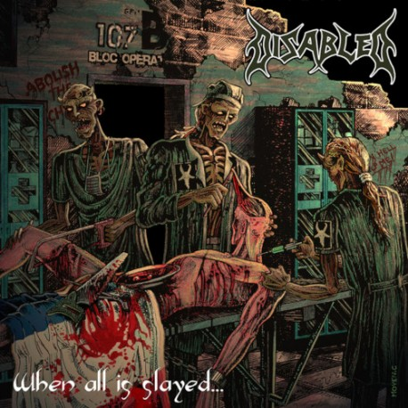"DISABLED ""When All is Slayed..."" 2xCD"
