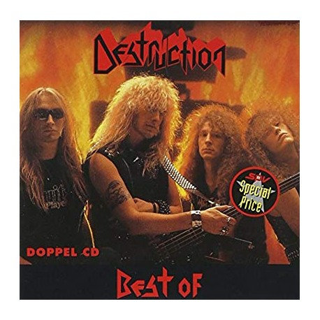 "DESTRUCTION ""Best Of"" 2xCD"