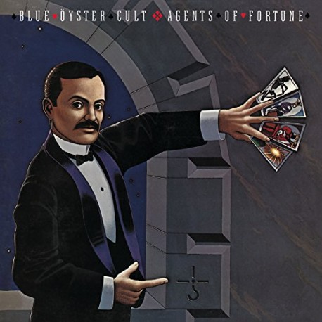 """BLUE ÖYSTER CULT """"Agents of Fortune"""" CD"""