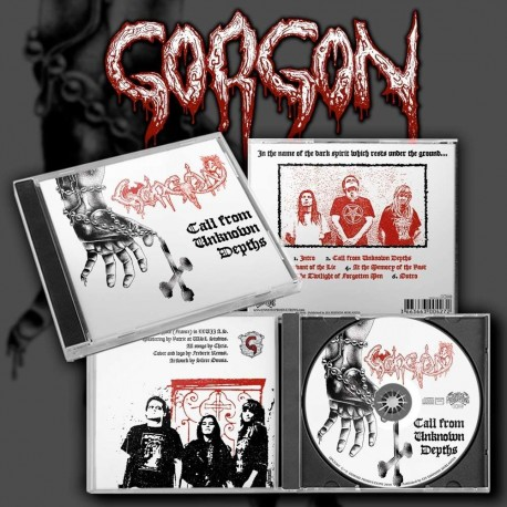 "GORGON ""Call From Unknown Depths"" CD"