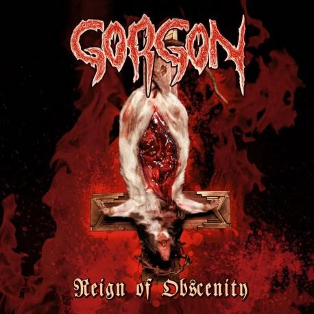 "GORGON ""Reign of Obscenity"" LP"