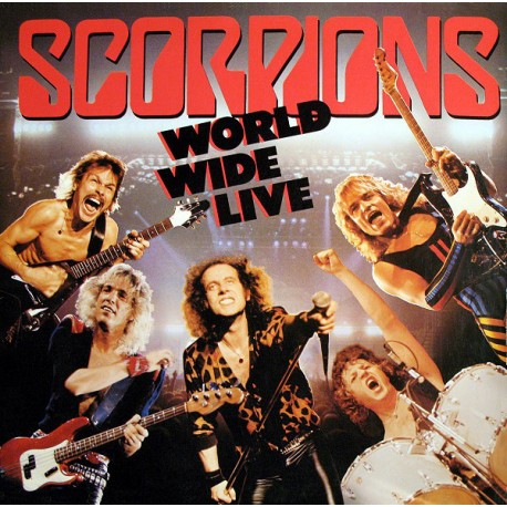 "SCORPIONS ""World Wide Live"" 2xLP"