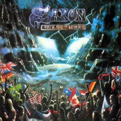 "SAXON ""Rock the Nations"" LP"