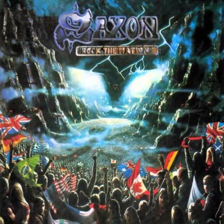 """SAXON """"Rock the Nations"""" LP"""