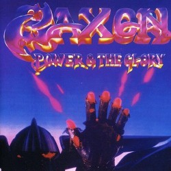 "SAXON ""Power & the Glory"" LP"