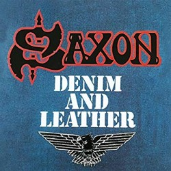"SAXON ""Denim And Leather"" LP"