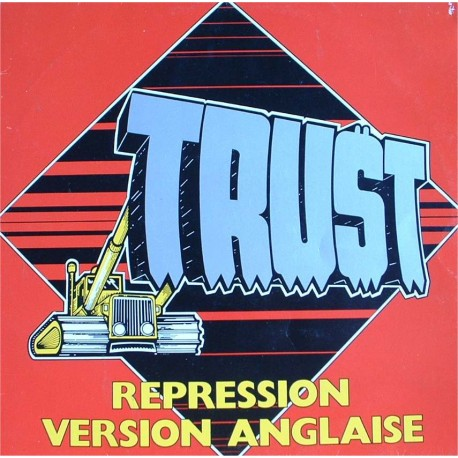 "TRUST ""Repression Version Anglaise"" LP"