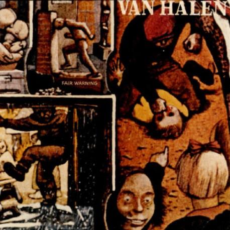 """VAN HALEN """"Fair Warning"""" LP"""