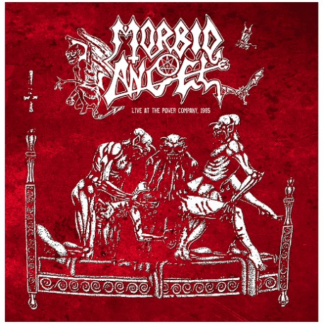"MORBID ANGEL ""Live at the Power Company, 1985"" 2xLP"