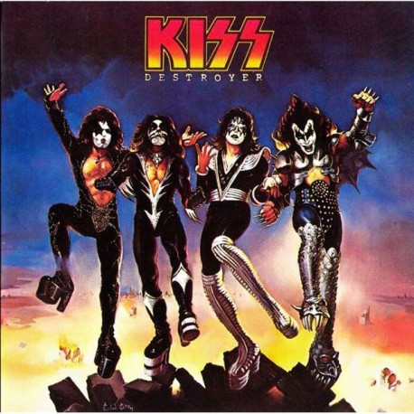 "KISS ""Destroyer"" CD"