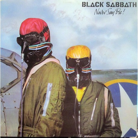 "BLACK SABBATH ‎""Never Say Die"" CD"