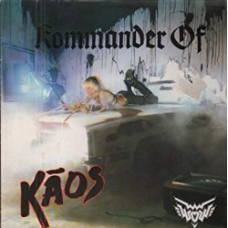 "WOW ""Kommander Of Kaos"" LP"