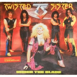 "TWISTED SISTER ""Under The Blade"" LP"