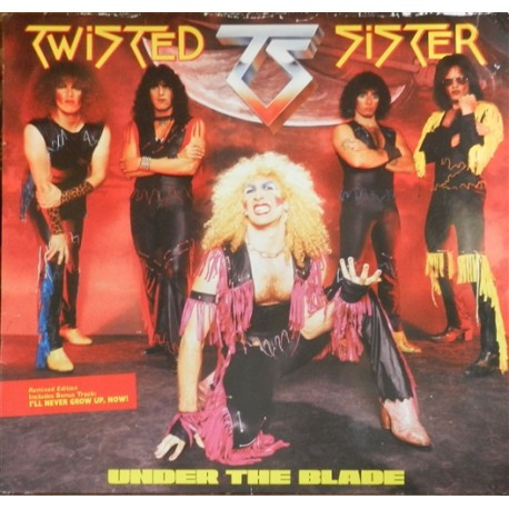 """TWISTED SISTER """"Under The Blade"""" LP"""