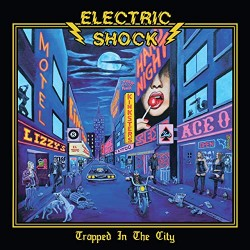 "ELECTRIC SHOCK ""Trapped in the City"" CD"