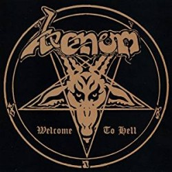 "VENOM ""Welcome to Hell"" CD"