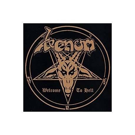 """VENOM """"Welcome to Hell"""" CD"""