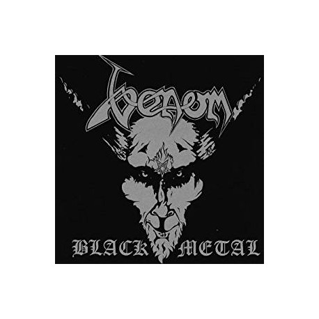 "VENOM ""Black Metal"" CD"