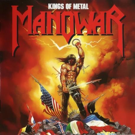 "MANOWAR ""Kings of Metal"" CD"