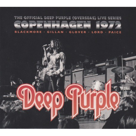 "DEEP PURPLE ""Copenhagen 1972"" CD"