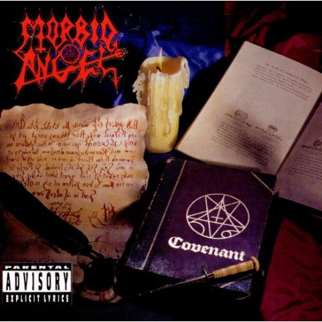 "MORBID ANGEL ""Covenant"" CD"