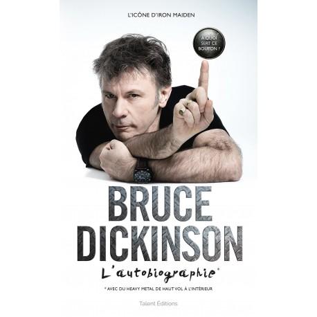 """""""Bruce Dickinson, l'autobiographie: À quoi sert ce bouton ?"""" - Livre"""