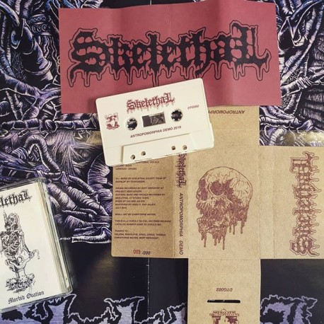 "SKELETHAL ""Anthropomorphia"" K7"