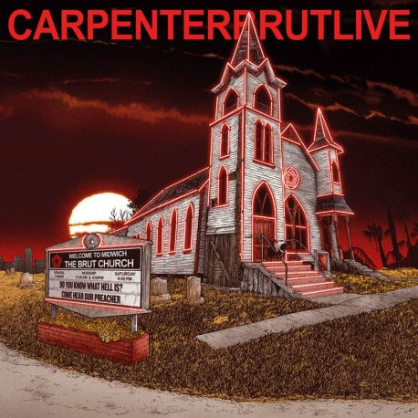 "CARPENTER BRUT ""Live"" CD"
