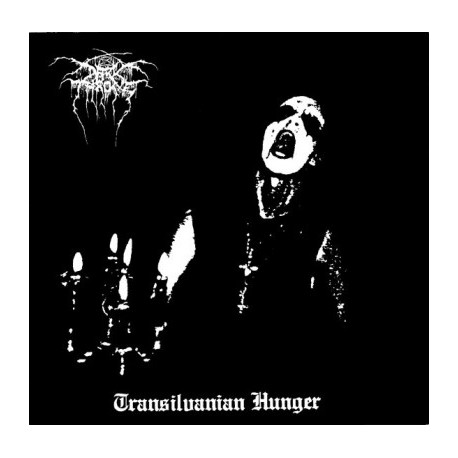 "DARK THRONE ""Transilvanian Hunger"" CD"